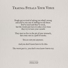 TRAUMA | NIKITA GILL