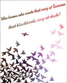 Tattoo Idea Blackbird Outline With Lyrics To The Beatles