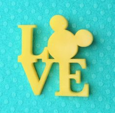 Handmade All You Need Is Mouse Love brooch in Yellow! This brooch is made with laser cut acrylic and its glazed with a polyurethane wood varnish glaze for shine. The brooch measures 30x31mm. Backed with a small silver bar pin