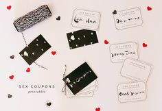 Sex Coupons - Printables