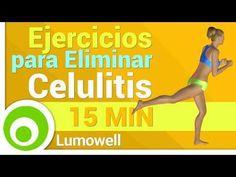 Ejercicios para Eliminar Celulitis de Piernas y Glúteos - YouTube