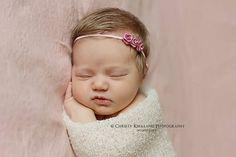 Newborn Headband Newborn Photo Prop  Newborn by CastAwayCollection, $16.00