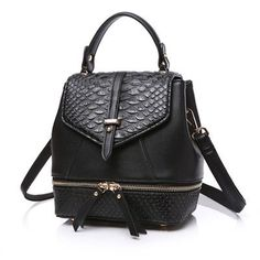 Reiwalker New Designer Women Backpack For Teens Girls Preppy Style School Bag PU Leather Backpack Ladies High Quality Rucksack
