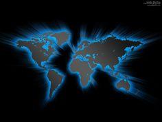 Black World Map Wallpaper 7912 Hd Wallpapers