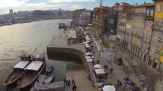Porto - Ribeira -Rio Douro,  DJI Phantom 2 + Gopro 3