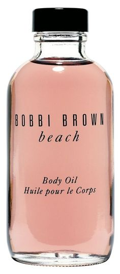 This Bobbi Brown body oil is a summertime essential: creates a sexy sheen as it scents, and contains essential oils and vitamins E and C to soften and nourish skin.