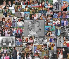 "80th Birthday Photo Collage Gift Idea - 28""x24"" with 45 photos. (The ProCollage logo (watermark) is not on the actual print)"