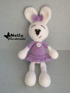 Nelly Handmade: Заяц. Описание. Перевод
