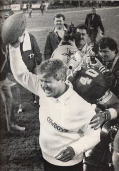Jimmy Johnson's first pro win. Dallas Cowboys beat the Washington team