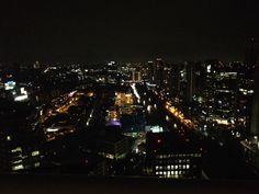 Un pequeño vistazo de México desde mi habitación piso 47!!!!