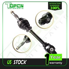 Pair of Front Left /& Right CV Joint Axles 2011-2014 Honda Rubicon 500 4x4 ATV