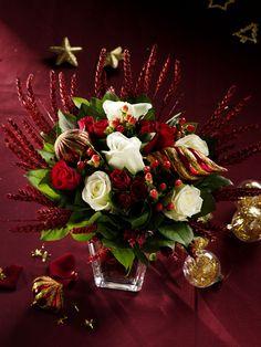 """Résultat de recherche d'images pour """"rose et orchidées noel"""""""