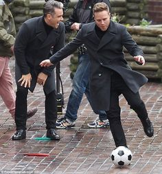 Robbie and Olly! <3