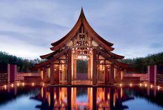 Lobby at Phulay Bay, a Ritz-Carlton Reserve, Krabi, Thailand