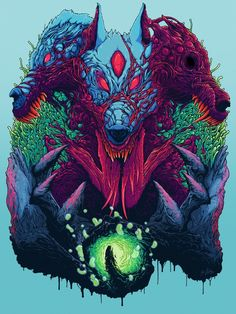 Check out this awesome collection of Hyperbeast wallpapers, with 36 Hyperbeast wallpaper pictures for your desktop, phone or tablet. Arte Horror, Horror Art, Dark Fantasy Art, Dark Art, Poses References, Wow Art, Monster Art, Psychedelic Art, Japanese Art