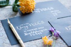 Hand-lettered custom envelopes addressing / Hand-lettered Invitations / Wedding invitations by SoCraftyStudio on Etsy https://www.etsy.com/listing/561918763/hand-lettered-custom-envelopes