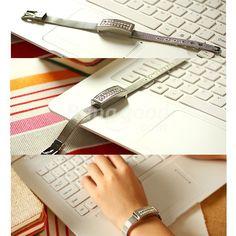 8GB Bracelet U Disk Memory USB 2.0 Crystal Flash Drive