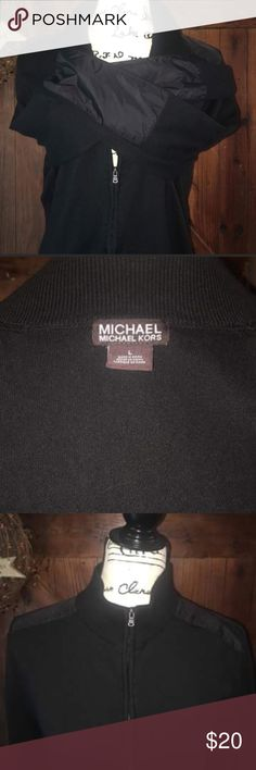 MK jacket Great used condition no stains no rips no fading purchased for my boyfriend but he's not a fan of the style open to offers MICHAEL Michael Kors Jackets & Coats