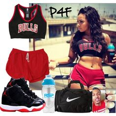 A fashion look from August 2014 featuring sports bra. Browse and shop related looks.