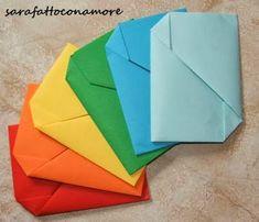 sarafattoconamore: Buste origami (tutorial)