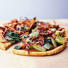 Veggie Pizza Crusts: Sweet Potato Crust #recipe