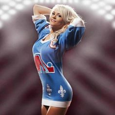 Post with 0 votes and 405 views. Hockey Goalie, Hockey Teams, Sports Teams, Hockey Sweater, Sport Editorial, Quebec Nordiques, Ice Girls, Hot Cheerleaders, Hockey Girls