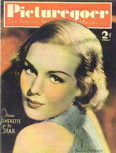 Star Magazine, Movie Magazine, Old Magazines, Vintage Magazines, Frances Movie, Frances Farmer, Old Celebrities, Iconic Women, Famous Women
