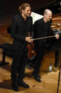 David Garrett and Julien Quentin in the great Hall - Bad Kissingen May 16, 2015 Photo: Ahnert