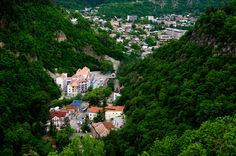 Borjomi (Georgian: ბორჯომი) is a resort town in south-central Georgia and is situated in the picturesque Borjomi Gorge - Travel in Georgia