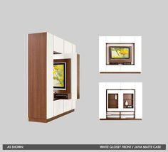 rotating tv cabinet/display shelves