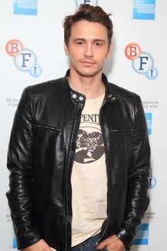 Smouldering For Psycho: James Franco introduced a special screening of Psycho in London on Sunday.