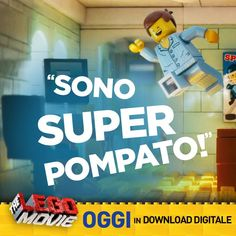 #Emmet, una minifigura #LEGO ordinaria, ligia alle regole e del tutto comune, viene coinvolto da un gruppo di sconosciuti in una #missione epica...come finirà? THE LEGO MOVIE su #TIMvision #Cartoon #Family #Fantasy #Summer #Anime #Cool #Ict #Kids #Entertainment #WarnerBros #Warner #Download #Digitale #Movie #Cinema #Comics #SuperHeroes #Heroes #Batman #Robin #SpiderMan