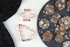 Minzkekse-Weihnachten-Advent-Kekse-Plätzchen-Weihnachtsplätzchen-Minze-Minzschokolade-Schokolade-Rezept-vegetarisch-subvyoage-Schieferplatte