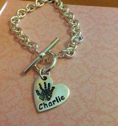 Charlie Handprint T-Bar
