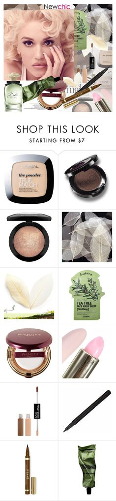 """""""NewChic 14: Falling in love with a blink of an eye"""" by bugatti-veyron ❤ liked on Polyvore featuring beauty, Caudalíe, L'Oréal Paris, MAC Cosmetics, Tony Moly, Wander Beauty, Charlotte Russe, Stila, Aesop and Dolce&Gabbana"""