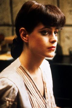 The perfect replicant. Looking. Blade Runner.