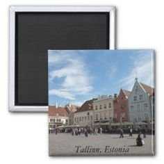 Tallinn city center Magnet, Sold to Caroline London, United Kingdom