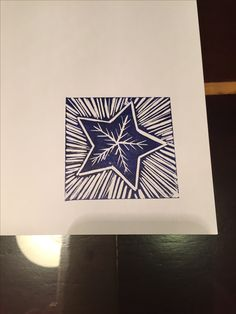 Shining in the east . it'll bring us goodness and light . Stamp Printing, Screen Printing, Christmas Art, Handmade Christmas, Art Carte, Stamp Carving, Handmade Stamps, Linoprint, Linocut Prints
