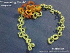 Free pattern for rakhi, bracelet or choker .... muskaan's T*I*P*S: Two Rakhi Bracelet Patterns