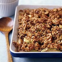 Weight Watchers Recipe - Apple Pear Crisp. I think I'd want more topping, but that kind of ruins the weight watchers part of it.  ;-)