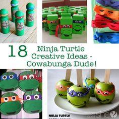 18 Ninja Turtle Creative Ideas - Cowabunga Dude!