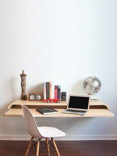 Float Desk Rift Oak - Gilt Home