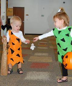 bam bam u0026 pebbles twins halloween