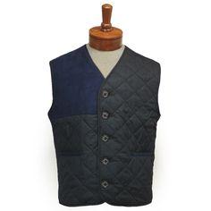 Barbour Tailored Waistcoat バブアー キルティングベスト ウェストコート [036]