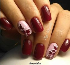 Beauty Nails – DIY nail designs # nail polish # gel nails # nail design # nail designs Cute 🍒❤️🍒 Trendy Stunning Manicure Ideas For Short Acrylic Nails Design Save MK so as not to lose … … Red autumn nails – – … Burgundy Nails, Pink Nails, Red Burgundy, Fancy Nails, Pretty Nails, Nagellack Design, Autumn Nails, Super Nails, Nagel Gel