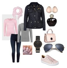 """Weekend in Stockholm 2017"" by dtlpinn on Polyvore featuring Jen7, Skechers, WearAll, Daniel Wellington, Barbour, Love Quotes Scarves, Monica Vinader, Ray-Ban and Christian Dior"