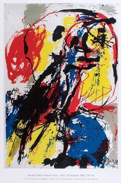 Asger Jorn – always so inspirational! Tachisme, Cobra Art, Art Informel, Francis Picabia, Organic Art, Outsider Art, Figure Painting, Art Techniques, Cool Artwork