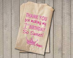 Alles Gute zum Geburtstag Banner Cupcake von getthepartystarted