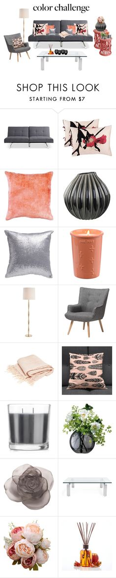 """Untitled #118"" by zahraamuhee ❤ liked on Polyvore featuring interior, interiors, interior design, home, home decor, interior decorating, Kensie, Broste Copenhagen, Arteriors and Baxton Studio"