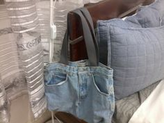 made from old jeans